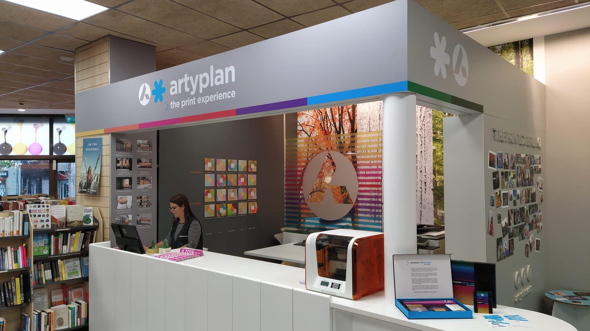 Artyplan abre un nuevo punto de venta en el Abacus de L'Hospitalet.