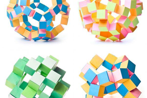 origami geometric stars